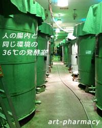 大高酵素の発酵室